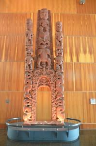 WAHORA ou porte d'entrée traditionnelle d'une maison traditionnelle