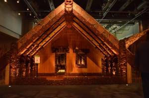 Maison traditionnelle MAORI
