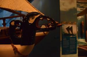 Détail d' une sculpture sur la WAKAHOUROUA